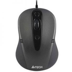 A4tech N-370FX-1, V-Track PADLESS Жична мишка,черна, USB