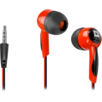 Defender Слушалки за поставяне в ушите Basic 604 Black + red 63605