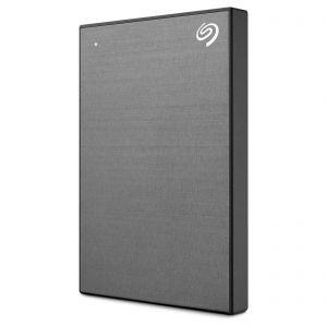 Преносим твърд диск  EXT 1TB SG BACKUP+SLIM GRAY