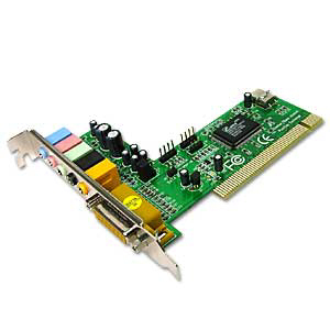 Звукова карта Sound card PCI 6CH